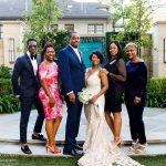 Wedding Guests at a Dallas Surprise Wedding
