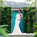 Bride's hair by Julian Addo of Adwoa Beauty