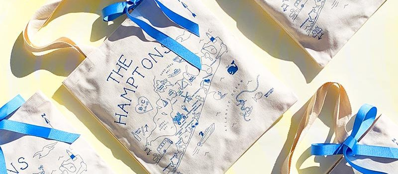 The Hamptons Gift Tote Bags
