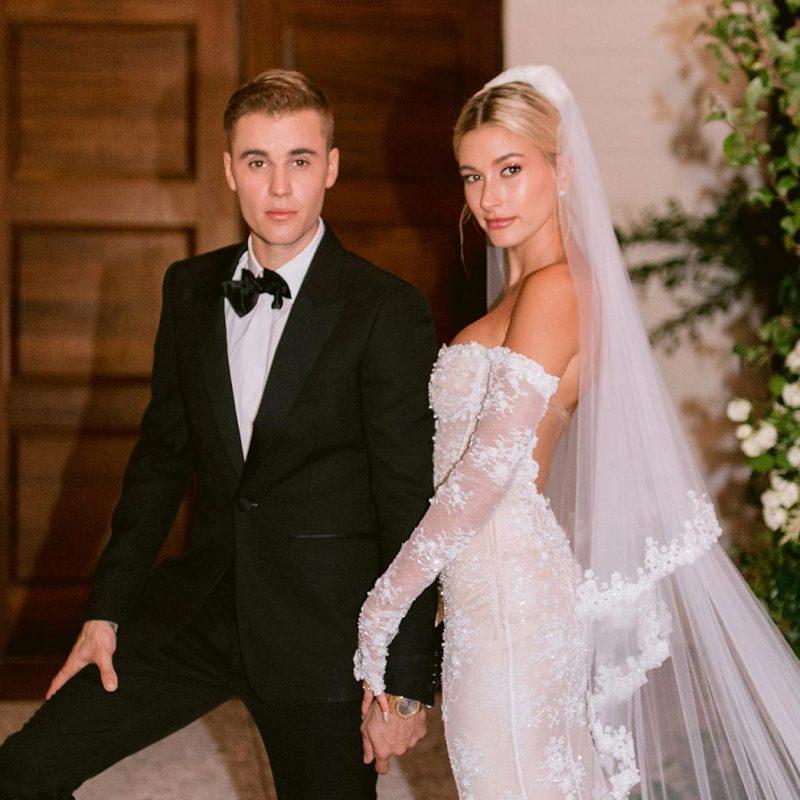 Hailey Bieber Wedding Style